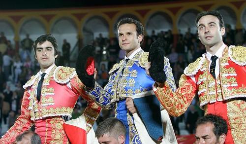 Perera, Ferrera y Ponce en Olivenza
