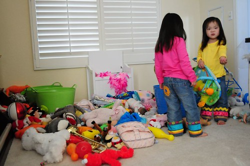 Destroyed the playroom in 2 minutes