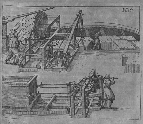 Heinrich Zeising - Theatri machinarum Erster - 1613 d
