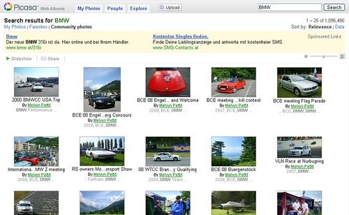 Picasa Web Albums mit Banner
