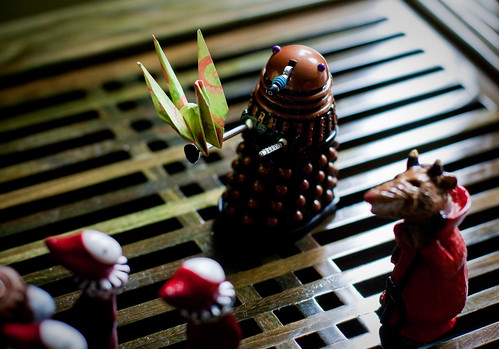can a dalek change its rivets?