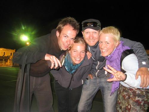 Wule, Chrissie, Walter und Karo