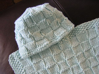 Checkerboard Knitting Pattern Blanket : Ravelry: Checkerboard Baby Hat pattern by Heidi Sunday