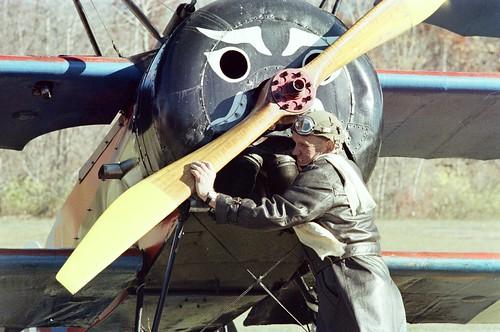 Cole Palen & His Fokker DR I Triplane