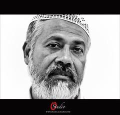 Bangladeshi man (O-STUDIO) Tags: old bw man nikon osama kuwait 2009 bangladesh kuwaiti 70200mm bangladeshi almajed d700 wwwosamaalmajedcom ostudio
