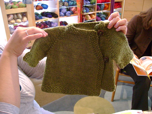 Martha's Easy Raglan Sweater