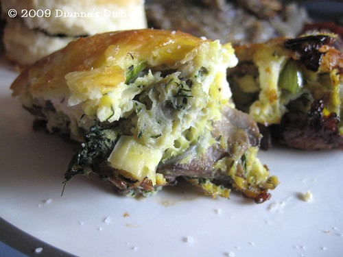 Mushrooms Frittata