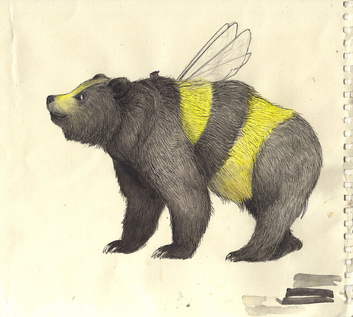 Bumble Bear Sketch