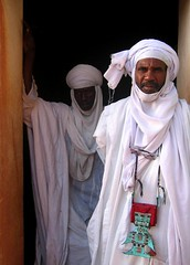 Tuaregs > Mosque of Agadez > North Niger (Aman Iman ) Tags: africa portrait people niger mosque afrique mosque agadez tuaregs touaregs