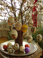 Some other Easter eggs my mother decorated (olga_rashida) Tags: easter eggs ostern ei easteregg eier ostereier blumenstraus anawesomeshot aplusphoto osterstraus decoratedeastereggs