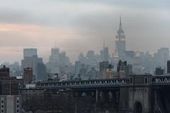 The Empire State Building in twilight (jver64) Tags: usa newyork manhattan empirestatebuilding empirestatebuildingintwilight litempirestatebuilding