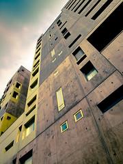 (M.Jerka) Tags: brown paris building green gold or vert marron brun immeuble dor contreplonge turquoi