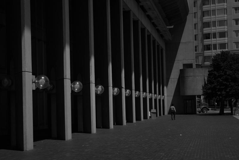 Concrete row