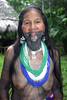 Embera Wounaan lady in Sambú Panama, 2008