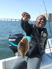 Mickey's First Flounder