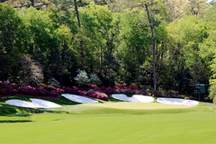 Amen Corner (The Thirteenth) (Curiouser*Curiouser) Tags: trees argentina golf georgia spring champion win cabrera perry themasters playoff amencorner augustanational greenjacket kennyperry practiceround canoneos40d angelcabrera butlercabin curiousercuriouser masters2009 thethirteenthhole 13hole bonnieblanton