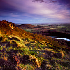 Sutton Bank square crop, Velvia (mattneighbour) Tags: uk film landscape fuji yorkshire velvia100 90mm largeformat northyorkshire tiltshift suttonbank rodenstock shenhao caltar grandagon sekonicl558 caltar90mm tz45iia caltariin168mc gemsofnature vosplusbellesphotos flickrclassique expressyourselfaward cropped5x4