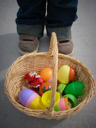 his basket
