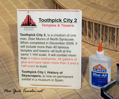 Toothpick City 2 (mrsmecomber) Tags: stan toothpicks munro