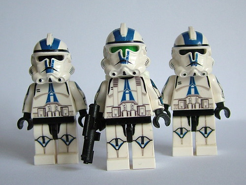 Starwars custom minifig storm troopers
