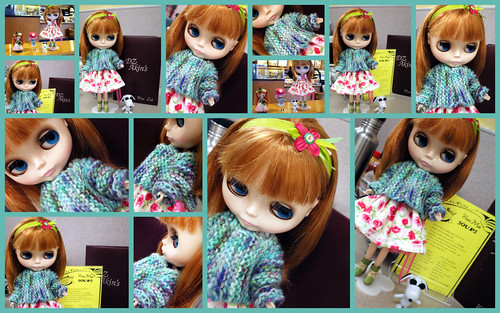 Sally Melville Best Friend Sweater for Blythe