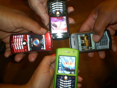 Soon BlackBerry users will have another option. Image from Flickr.