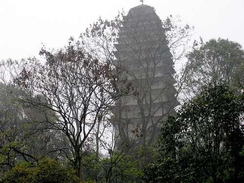 Pagoda in the Mist