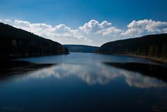 gateway (=Я|Rod=) Tags: blue trees sky reflection water clouds iso100 forsale gap symmetry reservoir 28 reflexions harz f9 talsperre 1400s imagekind 23ev nikond80 okertalsperre nikon1685vr 1624mm ©rerod я|r ©reinerrodekohr