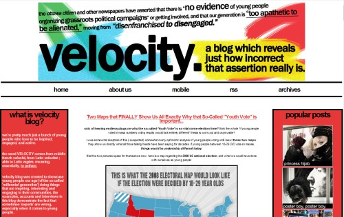 VELOCITY blog