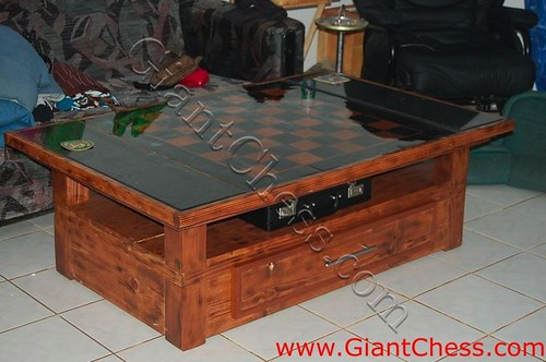 Big Wooden Chess » veranda furniture decoration
