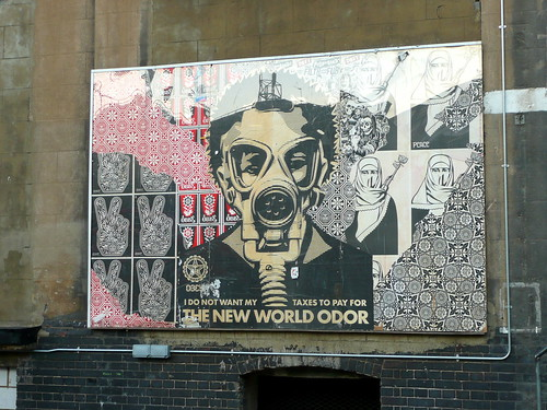 New World Odor by Shepard Fairey