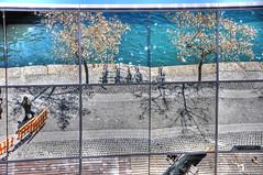 Pieces of a broken world... (Faddoush) Tags: world barcelona travel broken ecology matrix reflections spain nikon europe pieces bicycles environment hdr agentsmith d90 faddoush