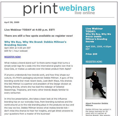 Print Webinar!