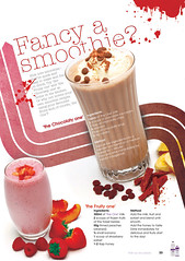 Smoothie Recipe (raw_design84) Tags: typography layout graphicdesign recipes smoothie vectors magazinedesign