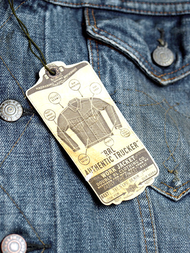 RRL / Authentic Trucker Work Jacket