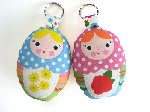 Russian Doll Keychains