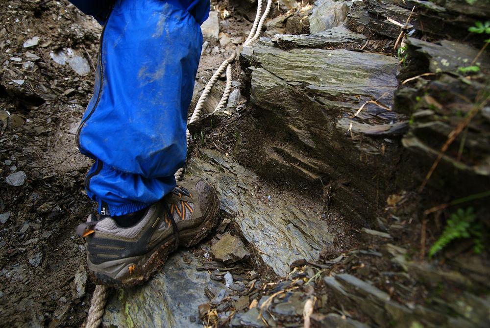 奇萊Day1-56 泥濘的陡坡