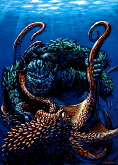 Toho Monster Illustrations