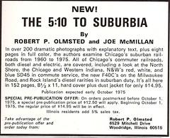 The 5:10 to Suburbia (ad, 1975) (mod as hell) Tags: northshore 1975 milwaukeeroad trainsmagazine chicagowesternindiana 510tosuburbia