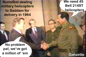 Donny and Saddam