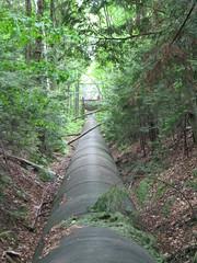 Old penstock (Quevillon) Tags: park qubec laurentides surgetank penstock saintjrme parcrgionaldelariviredunord wilsonhydroelectricdam