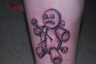 cajunvegan's badass voodoo tat
