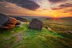 Higger Tor, Sunset Over Stanage (andy_AHG) Tags: sunset sky tourism nature clouds rural landscape outdoors evening countryside derbyshire peakdistrict yorkshire scenic historic darkpeak higgertor carlwark nikond200 colorphotoaward hathersagemoor