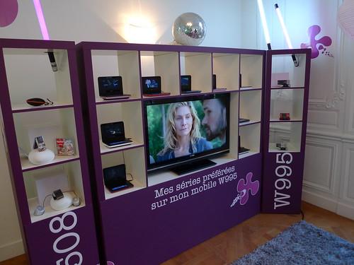 Nouveaux produits Sony-Ericsson - Soirée de présentation du 4 juin 2009