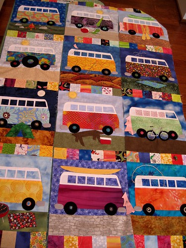 leigh's VW Bus quilt