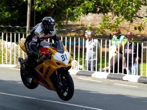 Mark Miller Isle of Man TT Update #10  photo courtesy of John O'Keeffe