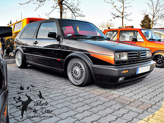 Golf Rally (Lons1) Tags: 2 golf volkswagen hungary low rally budapest front ii cult gti rs bbs rallye