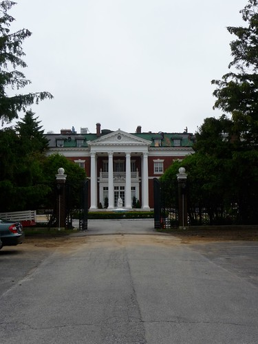 Approaching Indian Neck Hall