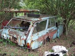 An old German Ford Taunus 17M or 20M Estate (1) (Scrawb) Tags: ireland junkyard scrapyard germanford ford17m ford20m estatecar fordtaunus oldfordstationwagon oldfordestate taunusestate