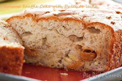 Banana Souffle Cake with Dulce de Leche 2